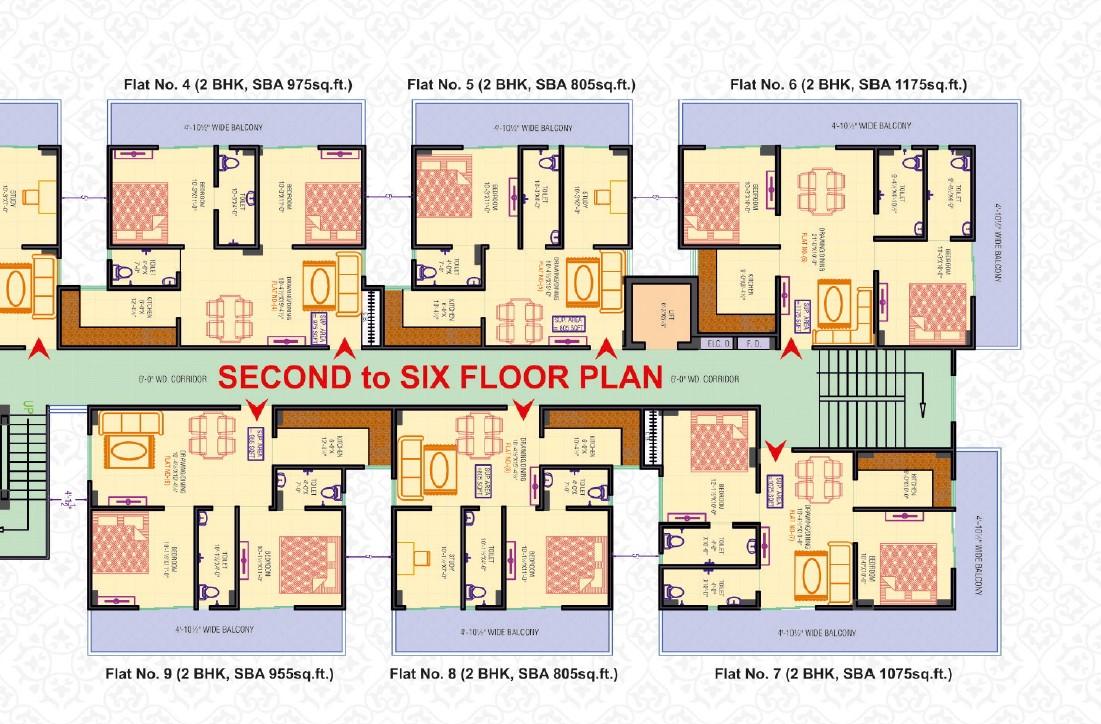 2 BHK and 3 BHK Apartment in Varanasi