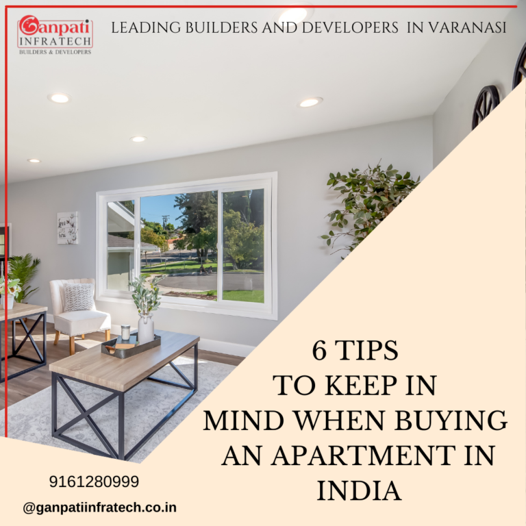 6 TIPS TO KEEP IN MIND WHEN BUYING AN APARTMENT IN INDI